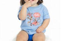 Camisetas para Bebés / Las camisetas más cuquis y divertidas para los peques de la casa