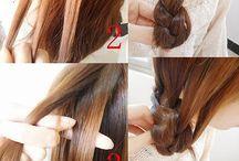 Hair arrange & tips