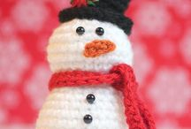 Christmas decorations -Crochet