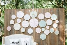 Sewing Hoop wedding ideas