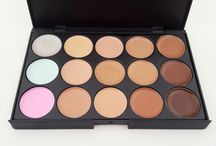 Makeup - Face / Foundation, Concealer, Powder, Blush and Bronzer....
