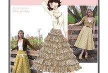 Sew Chic Pattern Spin Skirt #LN1209 : Womens Sewing Patterns / Love the Spin Skirt? On this board we have collected everything on the web into one place to help you plan, sew, and wear this skirt by Sew Chic Patterns  / by Sew Chic Pattern Company