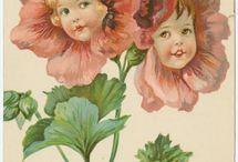 Flower girls / Anthropomorphic Flowers / by Flora Thompson