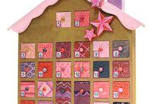 Noël & les calendrier de l'avent / Calendrier de l'avent à customiser, idée création... tout l'univers créatif de Noël