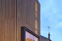 maison d'angle à meudon (92) / maison bois contemporaine