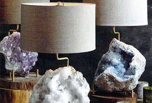 Minerals decor