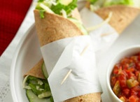 Recipes: That's a wrap / Wraps, rolls and tacos / by Panagiota Koutsoulis