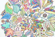 Secret Garden coloring ideas
