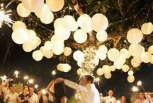 Laternen Hochzeit