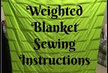 weighted blankets etc
