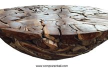 mesa baja de raíz de sono / mesa baja de raíz de sono, producto ecológico