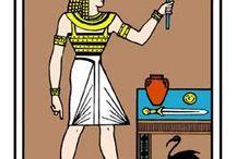 tableau des égyptiens