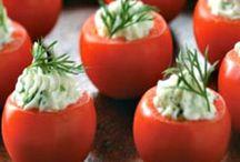 lekker tomaat hapje