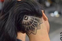 Undercut hair designs