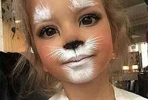 Dzieci makijaże