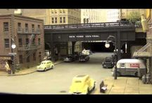Elevated Railways / Real life and fictional railways above street level. / by Josiah Robinson