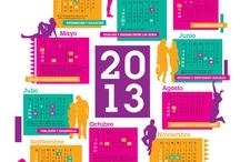 Calendario FEIM 2013 / FEIM presenta su nuevo calendario, con las fechas destacadas para el movimiento de mujeres.  Este año, el afiche está dedicado a los derechos sexuales y reproductivos reconocidos en la histórica Conferencia de Población y Desarrollo de 1994, en El Cairo.