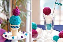 Yarn, crochet funny