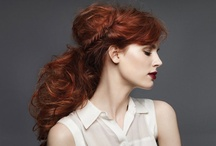 Hot red hair