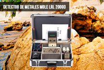 Detectores de Larga distancia / En este tablero presentamos los detectores de metales profesionales que tienen una larga distancia de búsqueda.