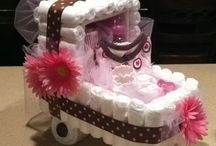 Baby Shower Gift Ideas / Gifts, decorations and crafts for baby showers / by Carolyn Corlett