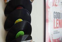 Huisdecoratie muziek