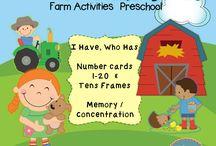 preschool SpEd/DD farm / by Jennifer Reichart