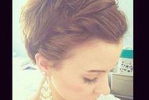 steckfrisur für kurze Haare