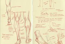 . how to draw feet and legs