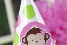 Mod Monkey Girl Birthday