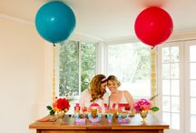 Get Inspired / Color boards and other inspiration ideas for your wedding.