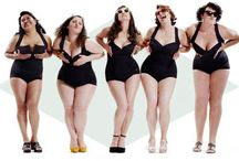 Be curvy and positive!