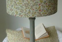 Evie Eccles  Liberty of London Lampshades / Liberty of London Handmade Lampshades