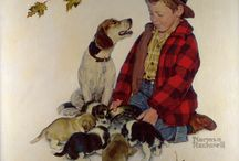 Norman Rockwell / by Cindy Ellena