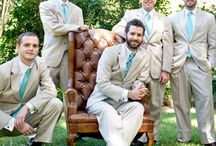 Groom and Groomsmen / Outfits, accessories, and ideas for the men of the wedding!
