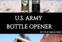 USMC & U.S. ARMY PRODUCTS / B O T T L E  B R E A C H E R™     Bottle Breacher is one of the fastest growing Veteran Owned and Operated businesses in Arizona. Former Navy SEAL, Eli Crane, and his wife Jen brought to Shark Tank their sole product of the recycled, authentic decommissioned .50 caliber Bottle Breacher, manufactured in a one car garage.