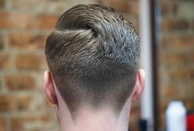 The Neck Taper / A collection of men's hairstyles featuring the neck taper, and the taper fade.  #fades #fadehaircuts #menshair #menshairstyles #haircuts #menshaircuts