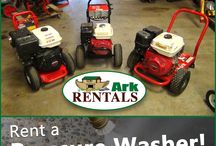 Pressure Washers / Clean your deck or car with a Pressure Washer from Ark Rentals! Call: 570-366-1071 for Prices & Details! Email: Info@arkrentals.com