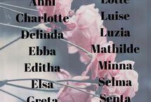 schöne Mädchennamen