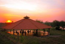 Best of AyurYoga Eco-Ashram / Photos of our river-front campus, facilities, food, and classes