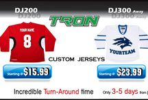 Custom Jerseys / Jerseys we have designed for our customers / by Hockey Tron