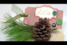 christmas place cards video / by Lavinia Dow