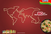 Indomie around the world.. Seleraku.. :D / Indonesia's most famous product :D