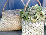 Weaving flax / Flax