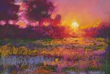Pastel Pictures Paintings