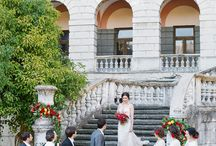 The Perfect Engagement / Places for Wedding, Ceremony, Beautiful Villas and Castles, Ideas for Photo, Wedding arches, Decoration and Flowers