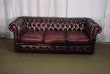 Nouvel arrivage d'Angleterre de canapés chesterfield et mobilier ancien et vintage ! / Images de canapés chesterfield et mobilier qui viennent d' arriver direct d'Angleterre !
