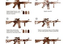 how to color gun