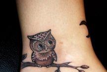 gufo tatoo