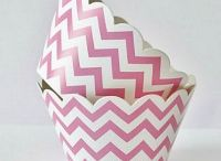 Chevron Party Inspiration for Cupcakes and Party Supplies